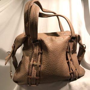 ⭐️ Big Buddha - Tan & Gold Handbag